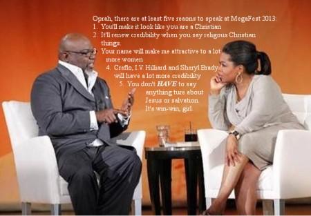 TD and Oprah